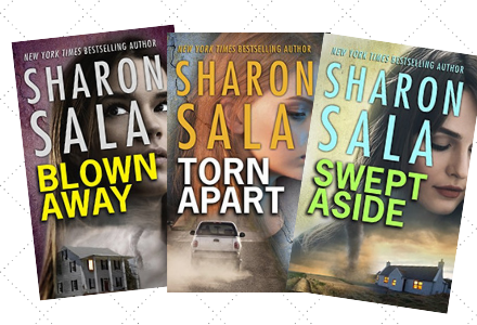 Book Covers for the Storm Front Series by Sharon Sala
