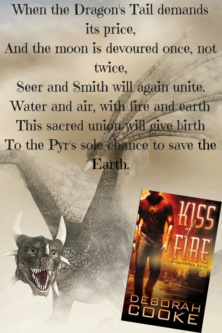 Graphic for Kiss of Fire by Deborah Cooke
