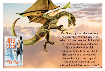 Book Quote from Winter Kiss.  This is the prophecy that is given about Delaney and Ginger!