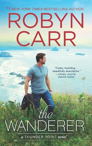 2018 Book Cover for The Wanderer by Robyn Carr